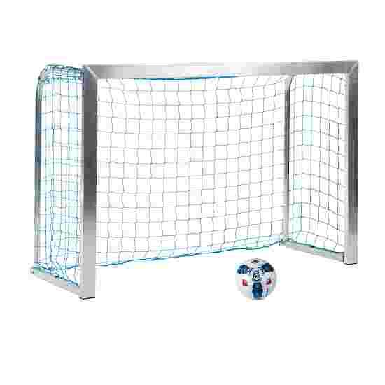 Sport-Thieme Mini-Trainingstor mit anklappbaren Netzbügeln 1,80x1,20 m, Tortiefe 0,70 m, Inkl. Netz, blau (MW 10 cm)