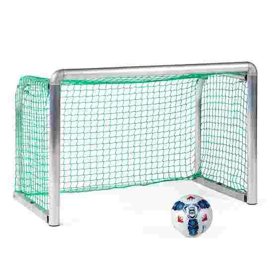 """Sport-Thieme Mini-Trainingstor """"Protection"""" 1,20x0,80 m, Tortiefe 0,70 m, Inkl. Netz, grün (MW 10 cm)"""