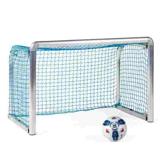 "Sport-Thieme Mini-Trainingstor ""Protection"" 1,20x0,80 m, Tortiefe 0,70 m, Inkl. Netz, blau (MW 4,5 cm)"