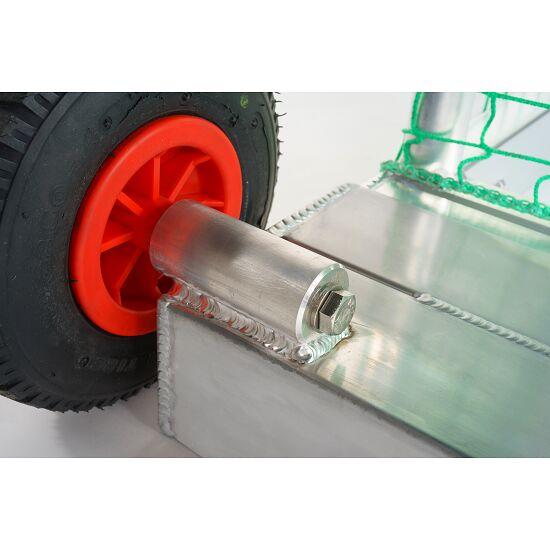 Sport-Thieme® Mini-Trainingstor, selbstsichernd 1,20x0,80 m, Tortiefe 1,05 m, Inkl. Netz, grün (MW 10 cm)