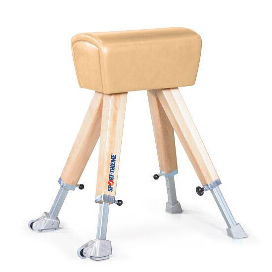 Sport-Thieme® Mouton de saut avec piètement bois Réglable en hauteur de 90 à 130 cm