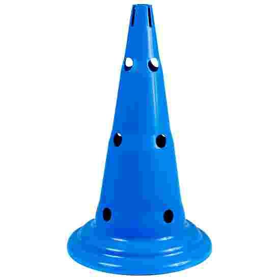 Sport-Thieme Multi-Aktions Kegel Blau, 50 cm, 12 Löcher