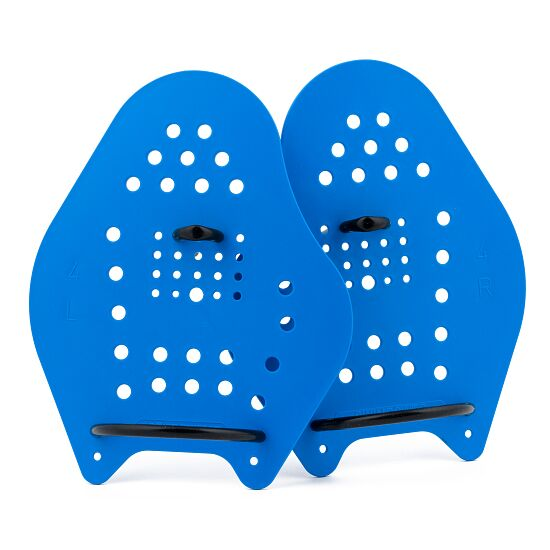 Sport-Thieme Paddles Swim-Power Taille XL, 24x20 cm, Bleu