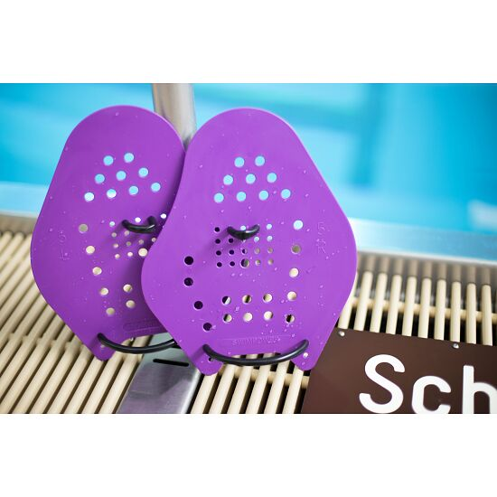 Sport-Thieme Paddles Swim-Power Taille XXL, 26x21 cm, Violet