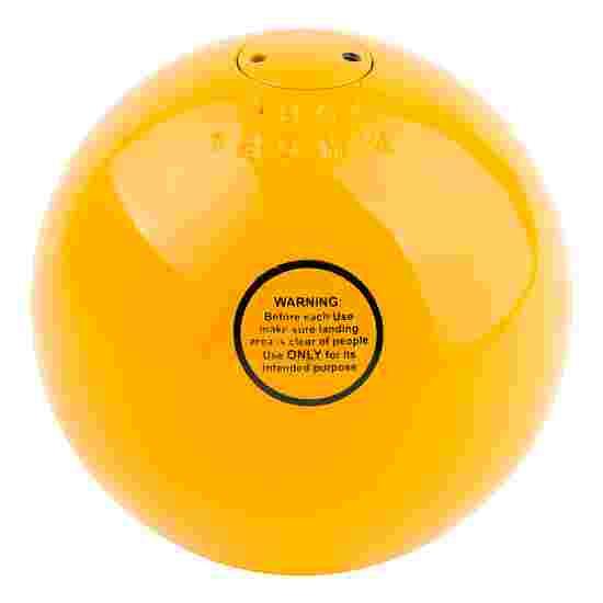 Sport-Thieme Poids de compétition « Acier » 7,26 kg, jaune, ø 125 mm
