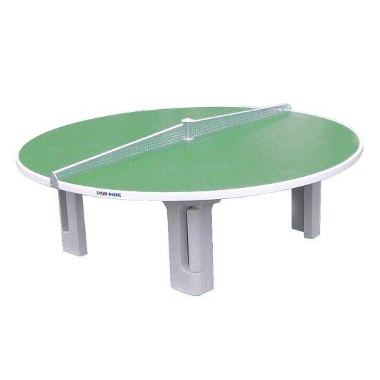 """Sport-Thieme® Polymerbeton-Tischtennisplatte """"Rondo"""" Grün"""