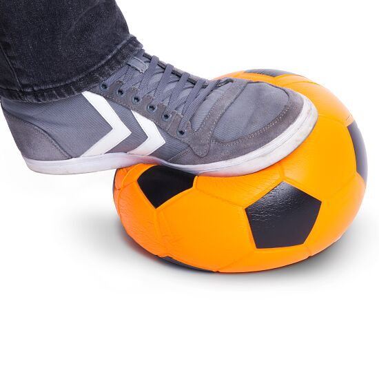 Sport-Thieme® PU-Fussball Orange/Schwarz