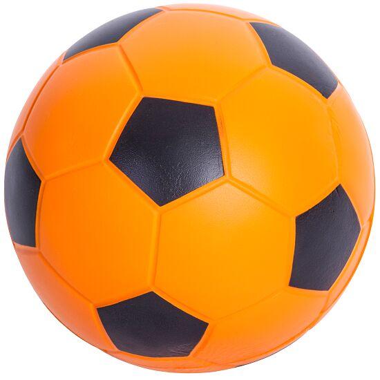 Sport-Thieme® PU-Fussball Orange-Schwarz, ø 20 cm