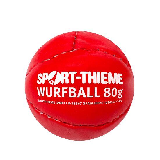 Sport-Thieme Schlagball 80 g Rot