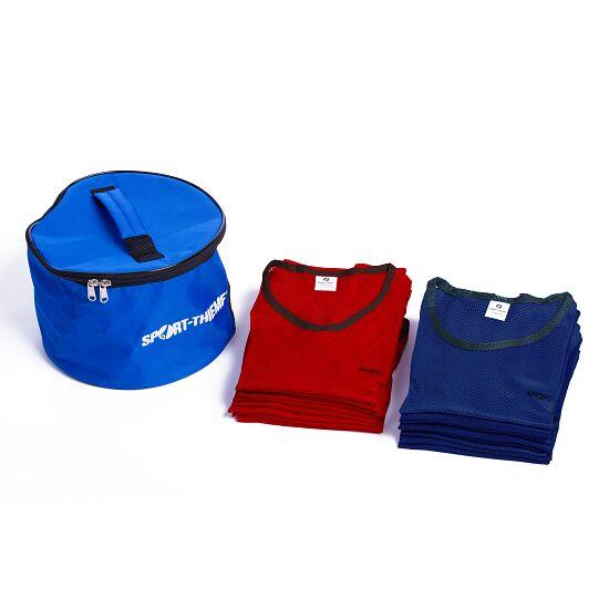 """Sport-Thieme Set Mannschaftswesten """"Premium"""" Jugendliche, Rot/Blau"""