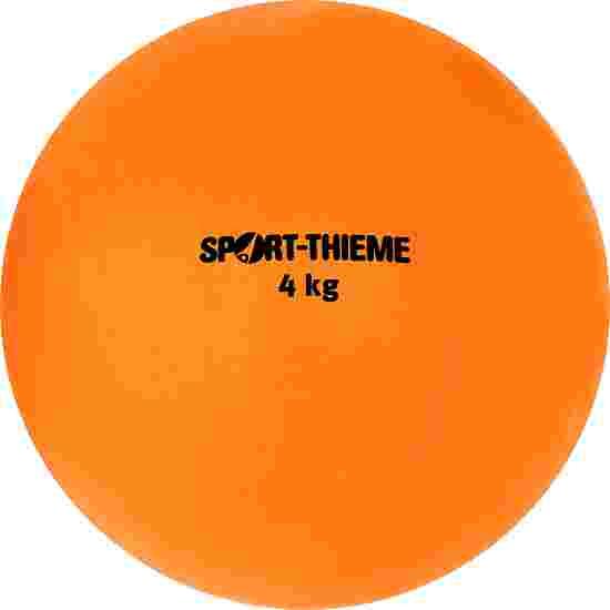 Sport-Thieme Stosskugel aus Kunststoff 4 kg, Orange, ø 134 mm