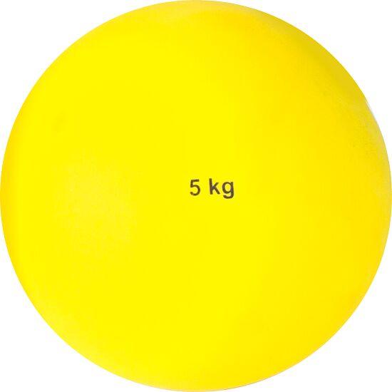 Sport-Thieme® Stosskugel aus Kunststoff 5 kg, Gelb ø 135 mm