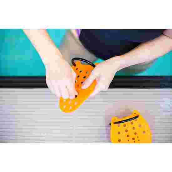 Sport-Thieme Swim-Power Paddles Grösse XS, 17x13 cm, Orange
