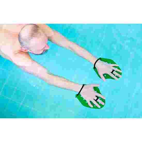 Sport-Thieme Swim-Power Paddles Grösse S, 19x16 cm, Grün
