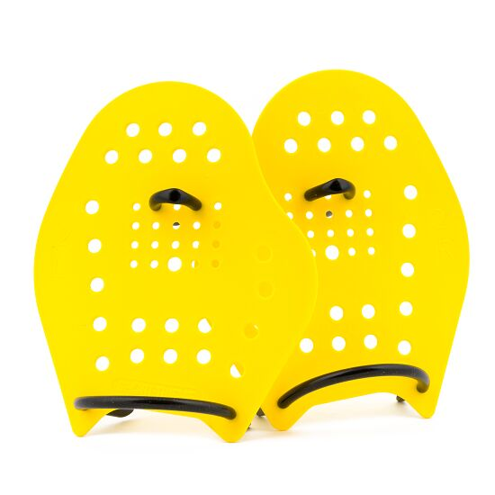 Sport-Thieme® Swim-Power® Paddles Grösse M, 21x18 cm, Gelb
