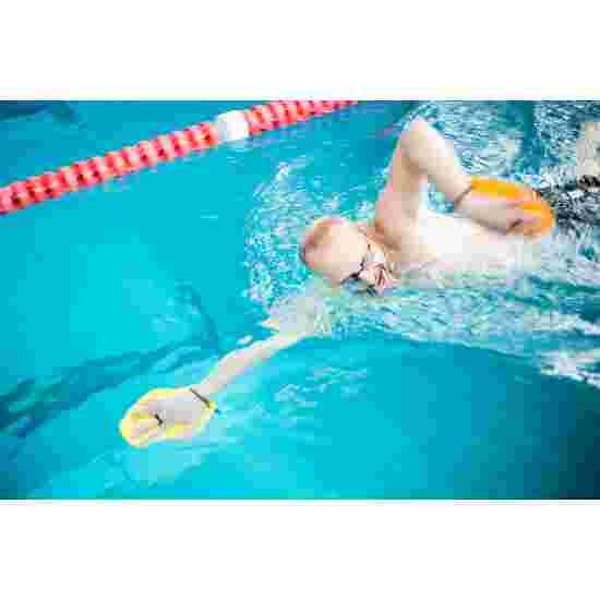 Sport-Thieme Swim-Power Paddles Grösse M, 21x18 cm, Gelb