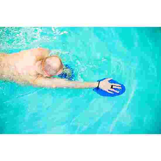 Sport-Thieme Swim-Power Paddles Grösse XL, 24x20 cm, Blau