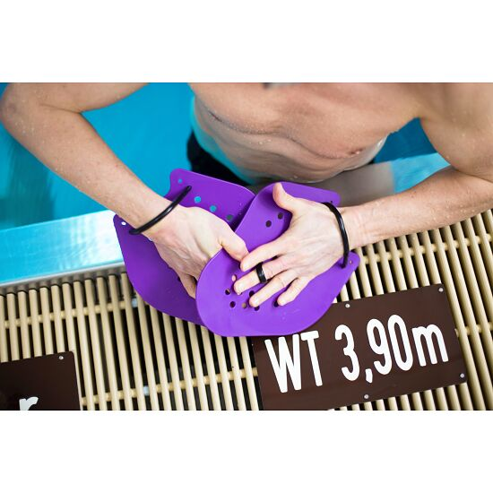 Sport-Thieme® Swim-Power® Paddles Grösse XXL, 26x21 cm, Violett