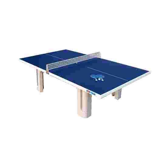 Sport-Thieme Table en béton polymère « Pro » Bleu