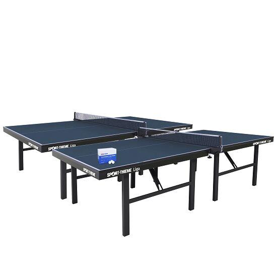 """Sport-Thieme Tischtennis-Set """"Liga"""" Blau"""