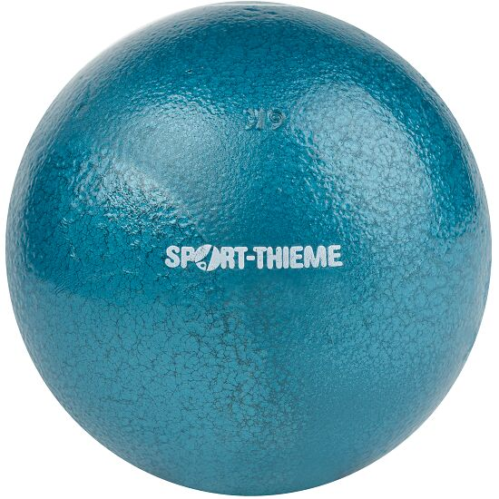 Sport-Thieme® Trainings-Stosskugel 6 kg, Blau, ø 119 mm