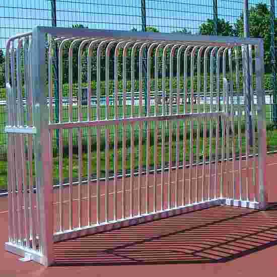 Sport-Thieme Vollverschweisstes Bolzplatztor Quadratprofil 80x80 mm, 300x200x70 cm