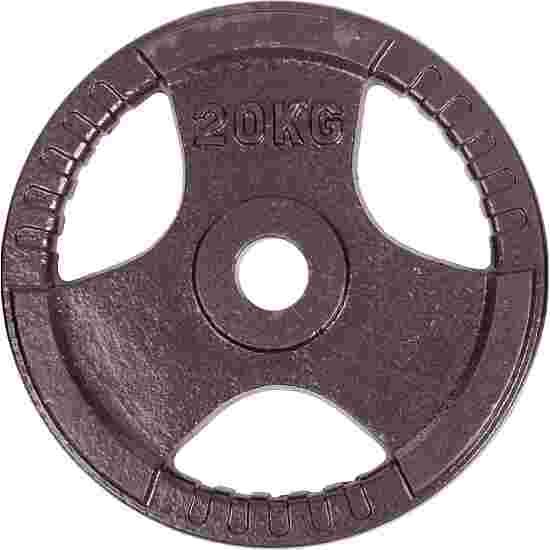Sport-Thieme Wettkampf-Guss-Hantelscheibe 20 kg