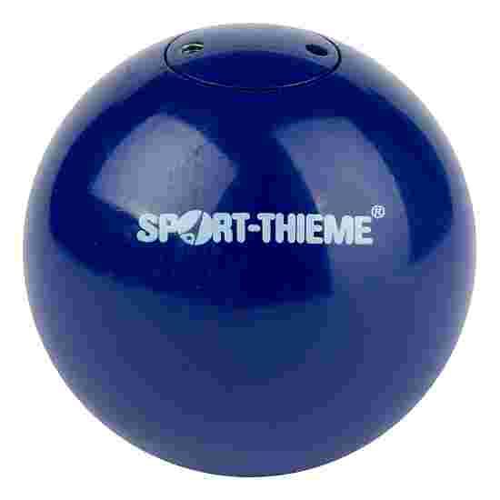 "Sport-Thieme Wettkampf-Stosskugel ""Stahl"" 2 kg, Blau, ø 80 mm"