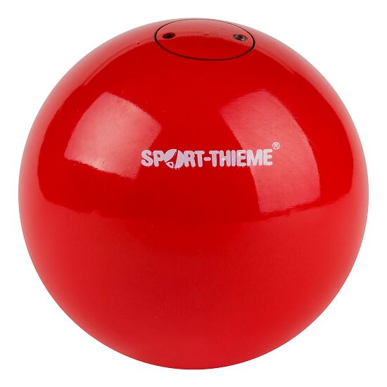 "Sport-Thieme® Wettkampf-Stosskugel ""Stahl"" 5 kg, Rot, ø 110 mm"