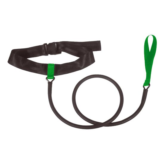StrechCordz Aqua-Gym Short-Belt Grün, Zugstärke 3,6-10,8 kg