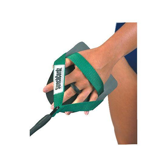 StrechCordz® avec paddle de main Vert, résistance 3,6-10,8 kg