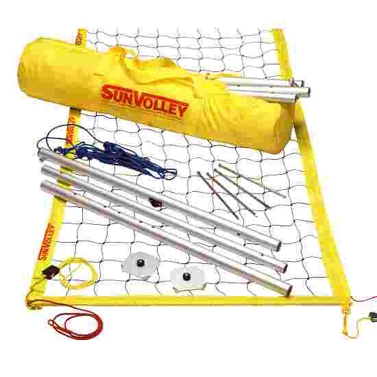SunVolley Installation de beach-volley « Standard » Sans lignes de délimitation
