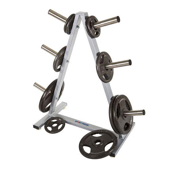 Support Sport-Thieme® pour disques d'haltère 50 mm, 6 emplacements