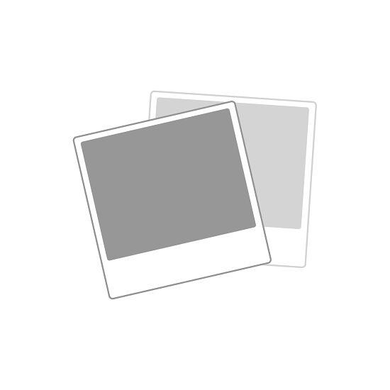 Sypro Wolf® Umkleidebank für Nassräume mit Rückenlehne, doppelseitig 1,01 m , Ohne Schuhrost