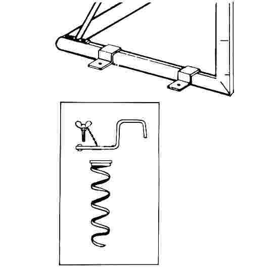 Système d'ancrage au sol Sport-Thieme