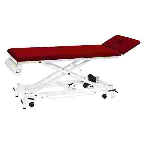 Table de thérapie Ecofresh 68 cm Blanc, Bordeaux