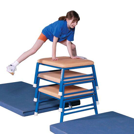 Tabouret de saut et de gymnastique Sport-Thieme® Cuir, naturel