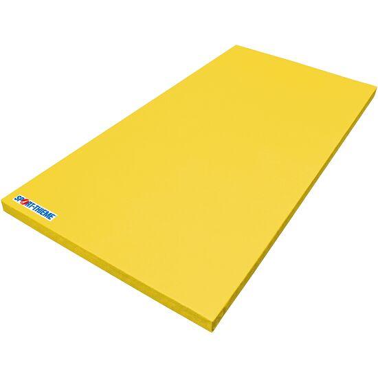 Tapis de gymnastique Sport-Thieme® «Super léger» Jaune, 200x100x6 cm