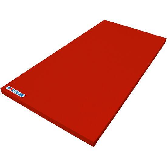 Tapis de gymnastique Sport-Thieme® «Super léger» Rouge, 200x100x6 cm