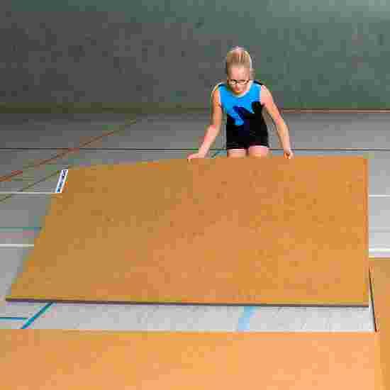 Tapis d'entraînement Sport-Thieme 200x100x3,5 cm, Jaune orangé