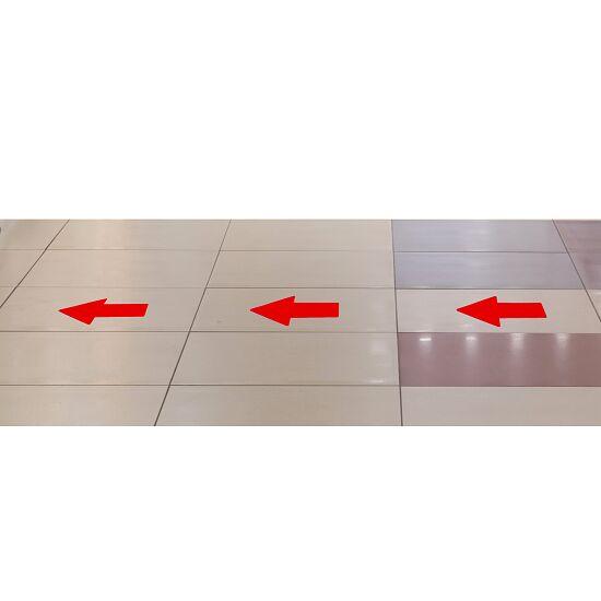 """Tarifold Bodenmarkierung """"Aufkleber"""" Pfeil, 200x10 mm, Rot"""