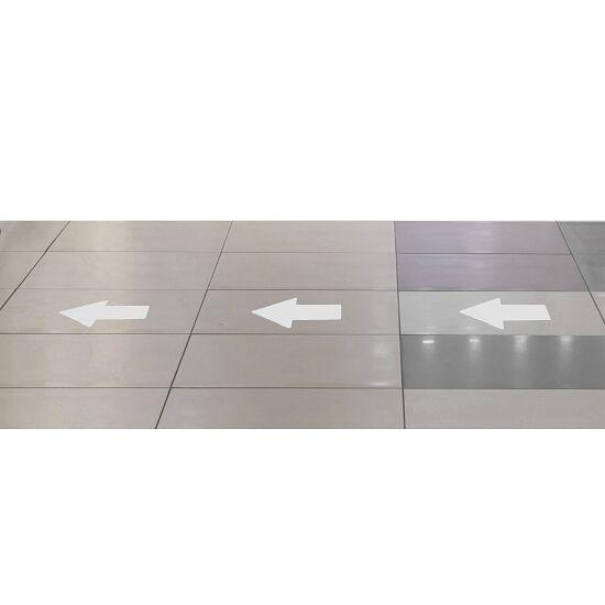 """Tarifold Bodenmarkierung """"Aufkleber"""" Pfeil, 200x10 mm, Weiss"""