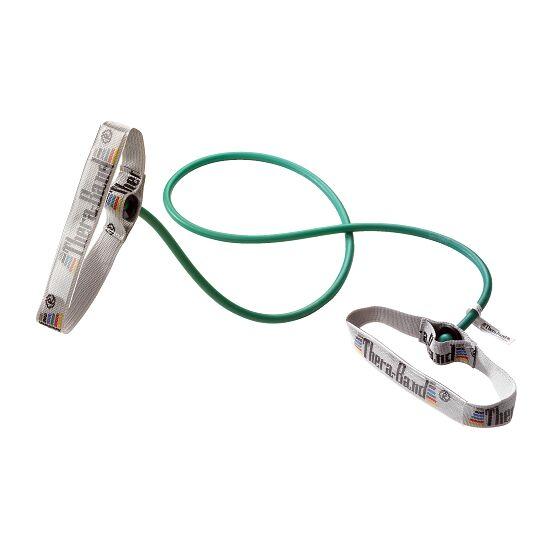 TheraBand™ Tube « Bodytrainer » 1,4 m avec poignées Vert, difficile