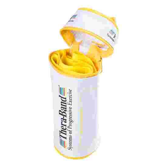 TheraBand 250 cm in Reissverschlusstasche Gelb, leicht