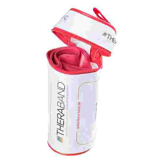 TheraBand 250 cm in Reissverschlusstasche Rot, medium