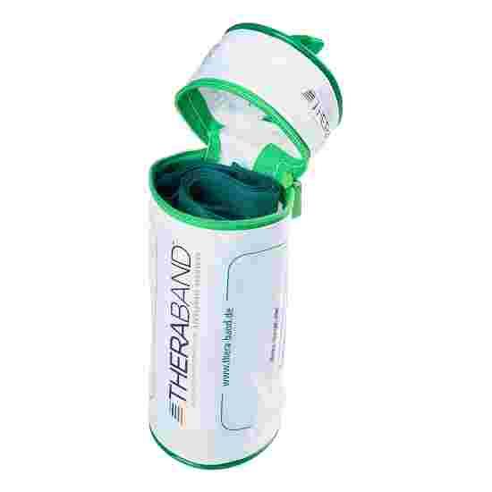 TheraBand 250 cm in Reissverschlusstasche Grün, stark