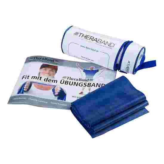 TheraBand 250 cm in Reissverschlusstasche Blau, extra stark
