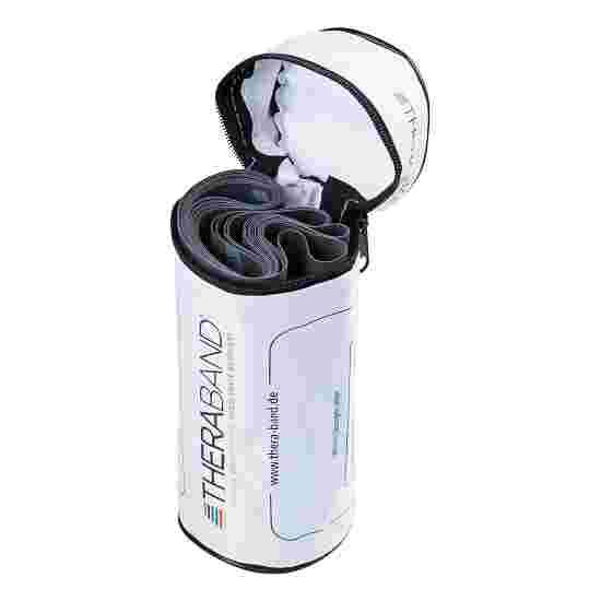 TheraBand 250 cm in Reissverschlusstasche Schwarz, besonders stark