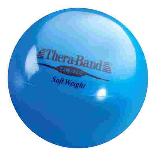 TheraBand Balle lestée « Soft Weight » 2,5 kg, bleu
