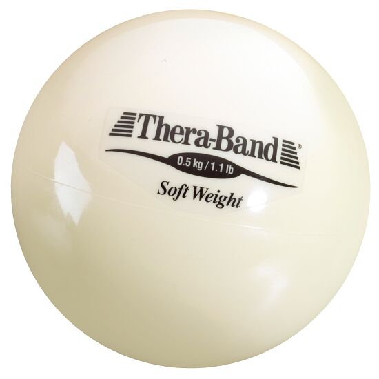 "TheraBand Gewichtsball ""Soft Weight"" 0,5 kg, Beige"